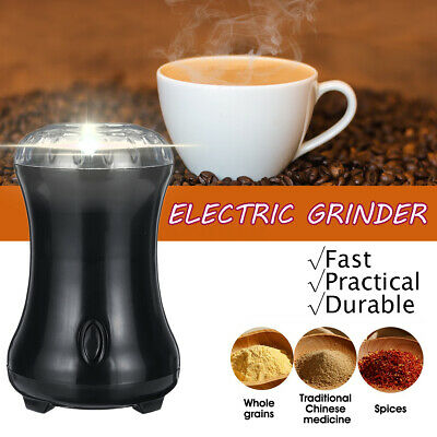 100W Electric Herbs Spices Nuts Coffee Bean Grinder with Stainless Steel Blade