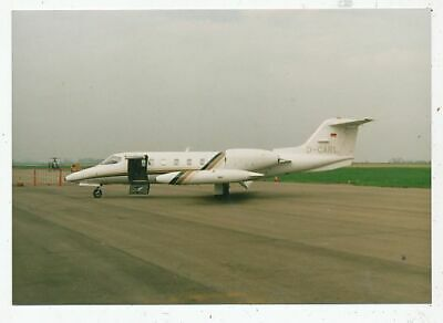 Photo Avion Aviation Militaire Learjet D-Carl Venant D' Allemagne