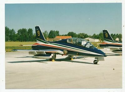 Photo Avion Aviation Militaire Aermacchi Mb 339 Pan Patroille Acrobate Frecce Tr