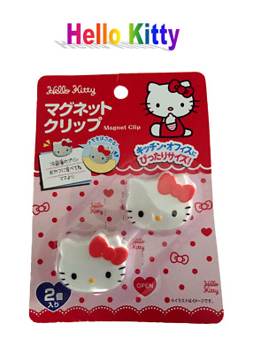 New Sanrio Hello Kitty Kawaii (Cute) Magnet Clip from Japan: Free Shipping