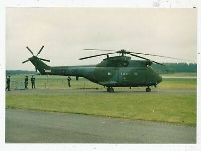 Photo Avion Aviation Militaire Westland Puma Hc Mk1 230 Squadron Base Gütersloh