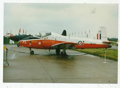 Photo Avion Aviation Militaire Jet Provost Tsa 1 Fts Xw366 Base Linton-On-Duse