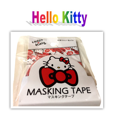 New Sanrio Hello Kitty Kawaii (Cute) Masking Tape (Red): Free Shippin from Japan