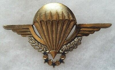 Insigne Brevet Parachutiste Chuteur Crap Drago  Original French Legion Rep Badge
