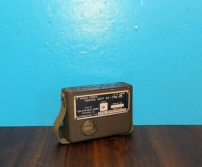 WWII US Army Signal Corps Tuning Unit BC-746-A Channel 10 3.735MHz for SCR-511