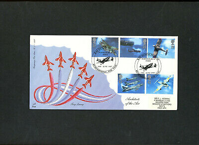 1997 Aircraft Designers Fourpenny Post FDC