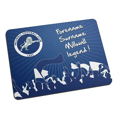 Millwall F.C - Personalised Mouse Mat (LEGEND)
