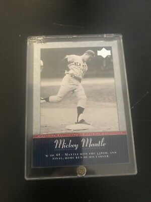 Mickey Mantle Upper Deck MM48 Baseball Card