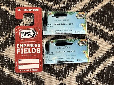2 Emperors Field Tickets Kendal Calling, Showers And Car Park