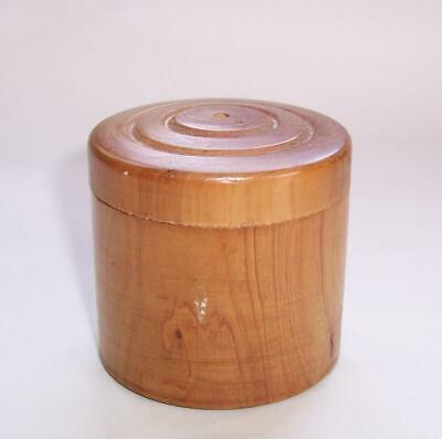 Antique/Vintage WOODEN Sewing COTTON REEL HOLDER BOX - Treen