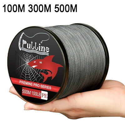 PULLINE Super Strong 4 Strands Braided Fishing Line 6-100LB Outdoor Fishing Tool