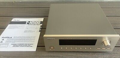 Vintage TEAC T-H500 TUNER w/ Instructions