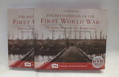 THE BATTLEFIELDS OF THE FIRST WORLD WAR Peter Barton 2008 Hardback - R08
