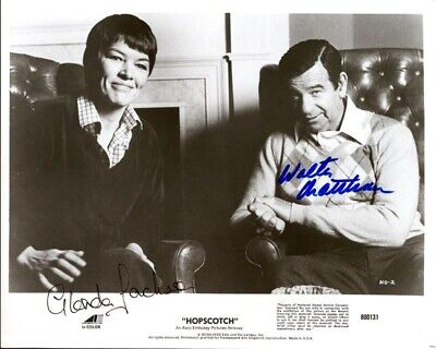 Hopscotch Movie Cast - Autographed Signed Photograph With Co-Signers