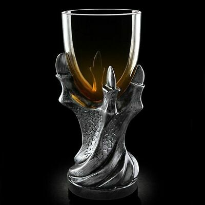 Glass Cup Dragon Glass Holder Wine Goblet Replica Gothic Party Mugs Drinking Cup