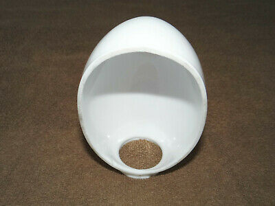 """Vintage Milk Glass Lamp Globe Cover Diffuser, Approx. 6""""L X 3 3/4"""" Wide"""