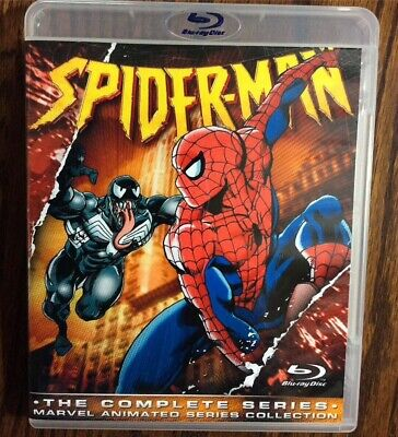 Spider-Man Complete 1994 Animated Series Blu-ray Collection SEALED