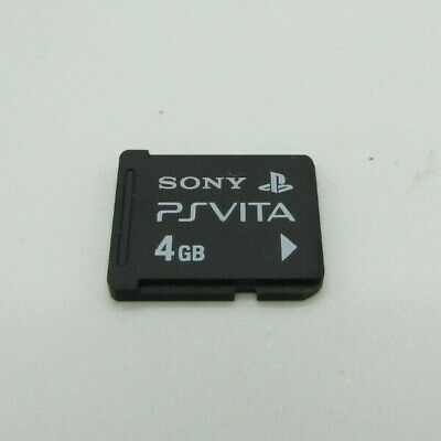 Playstation Vita PS Vita Official OEM 4 GB Memory Card Excellent Condition Sony