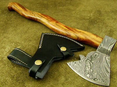 "17.1"" Alistar Beautiful Hand Forged Damascus Steel Hatchet Camping Axe 2250-03"