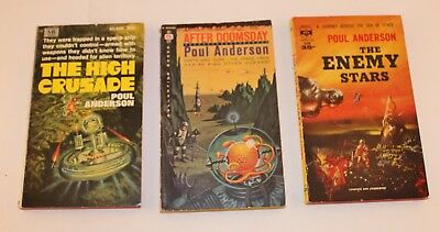 Poul Anderson #4 Set of 3 inc. The High Crusade & The Enemy Stars