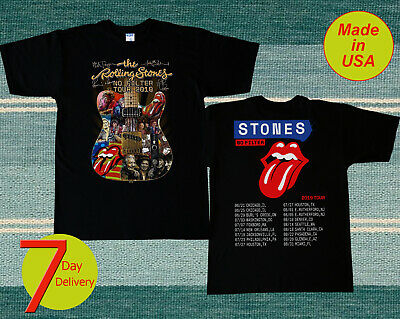 The Rolling Stones No FIlter Tour Superdome New Orleans 7/15/2019 Tshirt S - 2XL