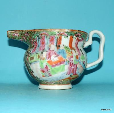 Chinese Export Porcelain Imperial Canton Famille Rose ,Rose Medallion Sauce Boat