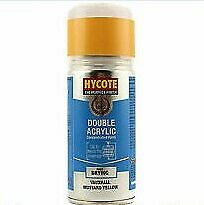 Hycote Vauxhall Mustard Yellow Spray Paint Enviro All-Purpose Can XDVX703