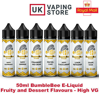 Bumblebee 0mg/3mg Short Fill Cheap 50ml | Premium E-Liquid High VG Vape Juice