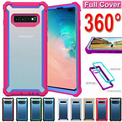 For Samsung Galaxy S8 S9 S10 Plus Shockproof Rugged Rubber Heavy Duty Case Cover