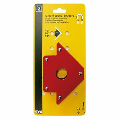 GYS Magnetic Welding Positioner Multi-Angle Arrow Magnet Red Metal 45° 90° 135°