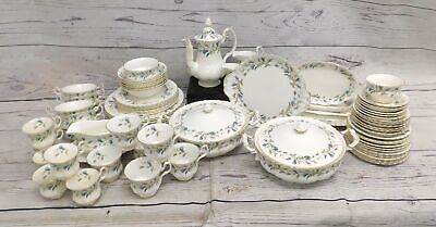 ROYAL ALBERT BRIGADOON 68 Piece Dinner Service/Tea Set Inc. TEAPOT Tureens - D35