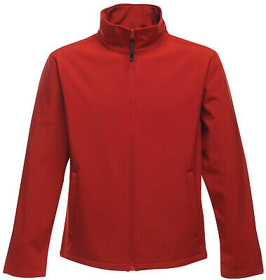 Regatta Print Perfect Mens Softshell Jacket - Red