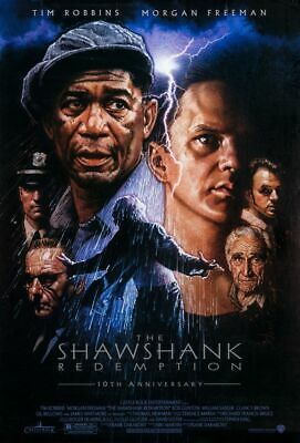 Shawshank Redemption original DS movie poster 27x40 10th Anniv. - Drew Struzan