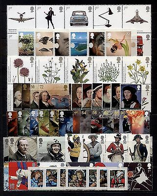 GB 2009 Commemorative Stamps~Year Set~Unmounted Mint~no m/s~UK Seller