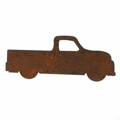 Package of 6 Rusty Tin Pickup Truck Cutouts