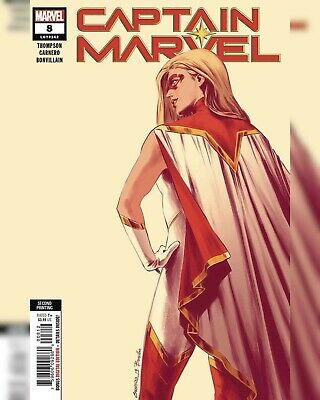 Captain Marvel #8 2Nd Ptg Carnero New Art Variant (21/08/2019 )