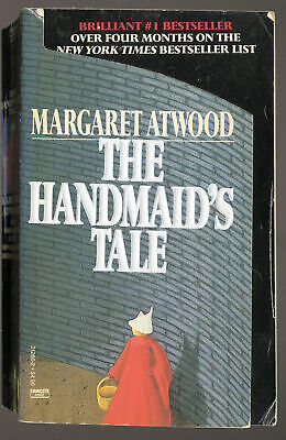 THE HANDMAID'S TALE by Margaret Atwood * 1987 AVON paperback 1st print