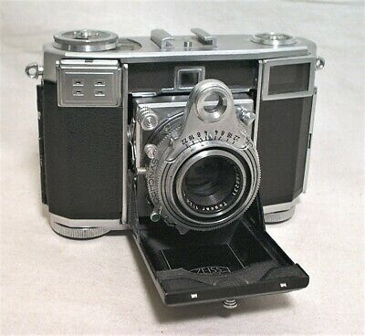 Zeiss Contessa 35Mm Rangefinder W/ Tessar 45Mm 2.8 On Synchro Compur Shutter