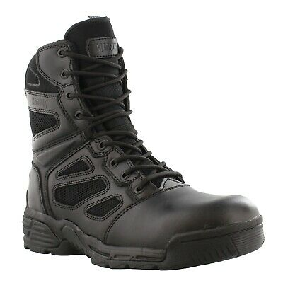 "Magnum 8"" Men's Raptor Side Zip Tactical Boots Waterproof Military Police Work"