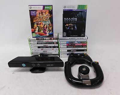 22 XBOX 360 Games & Accessory/Controller Bundle KINECT Mass Effect Trilogy - P14