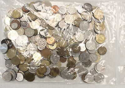 Collection of Vintage EUROPEAN Countries COINS 1.3KG - T03