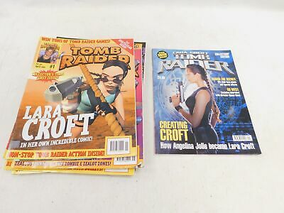 TOMB RAIDER Issues 1-9 2001 Magazines & Collectors Edition And Duplication - C12