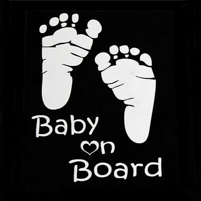 Decoration Graphics Vinyl Vehicle Decal Car Sticker Window Baby on Board