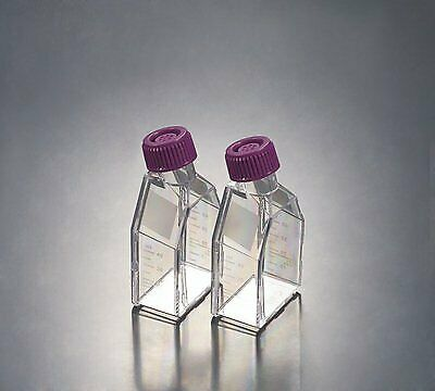 VWR 10062-874 Cell Culture Flask with Standard Cap, 50mL Capacity (Pack of 50)