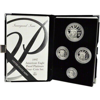 1997-W American Platinum Eagle Proof Four-Coin Set in OGP