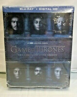 Game of Thrones The Complete Sixth Season 6 NEW (Bluray, 2016)Fast Free Shipping