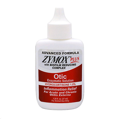 ZYMOX Otic Plus Ear Solution/Dog and Cat Ear Solution