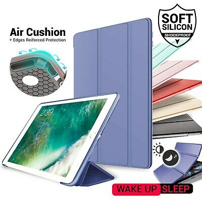 For Apple iPad Air3 10.5 2019 Smart Auto-Sleep Cover Soft Silicone Back Case