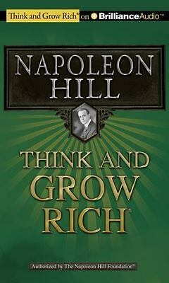 Think and Grow Rich by Napoleon Hill 9781455804863 (CD-Audio, 2011)