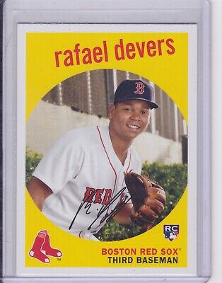 Rafael Devers 2018 TOPPS ARCHIVES ROOKIE RC #40 BOSTON Red Sox NM/MT (1564)